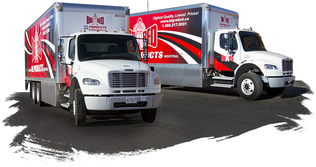 Big Red Oil Products - Premium Distributor of Bulk Oil, Toronto. Our trucks deliver to you!