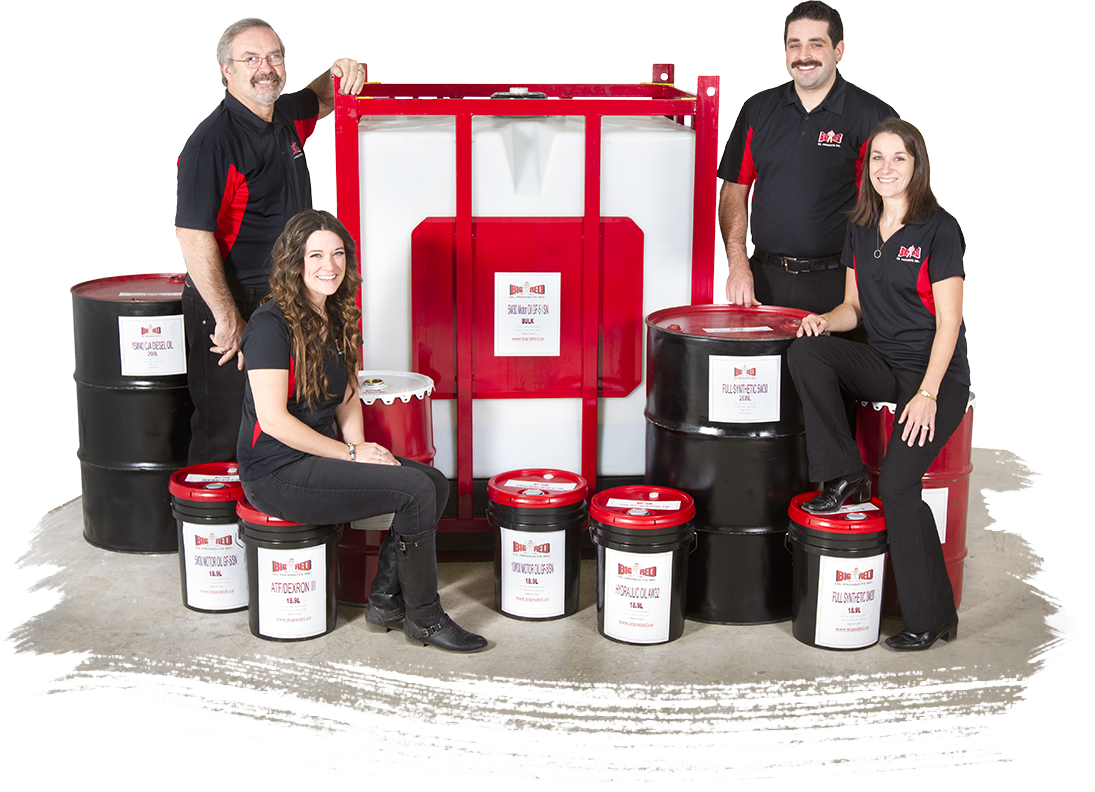 Big Red Oil Products Family Team picture - Bulk oil distributor, Toronto